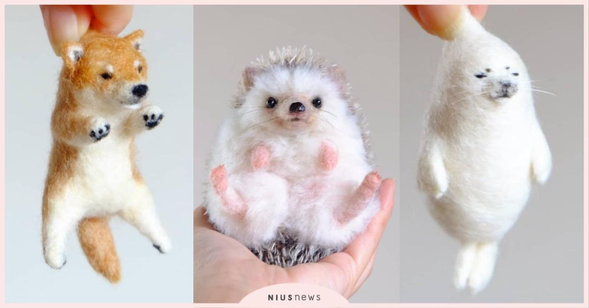 日本羊毛氈 動物