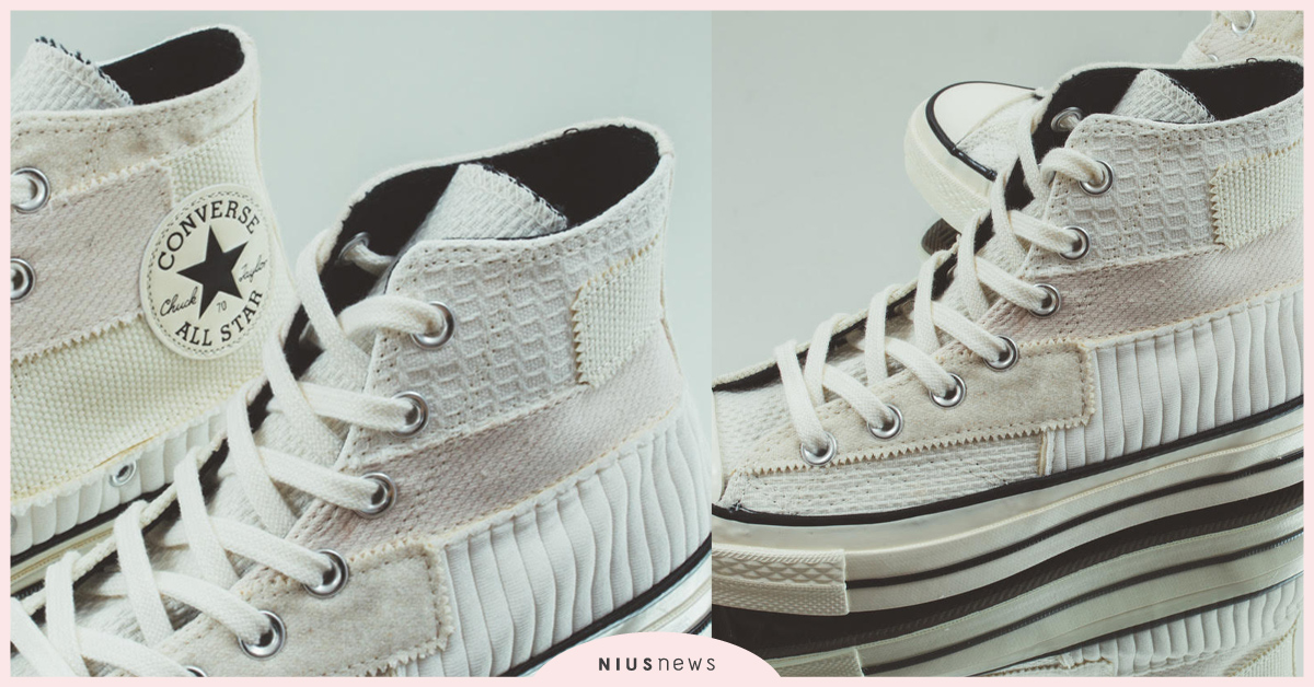 "CONVERSE CHUCK 70 HI "" Antique Patchwork "" 仿舊解構限定款 converse、仿舊、限定款"