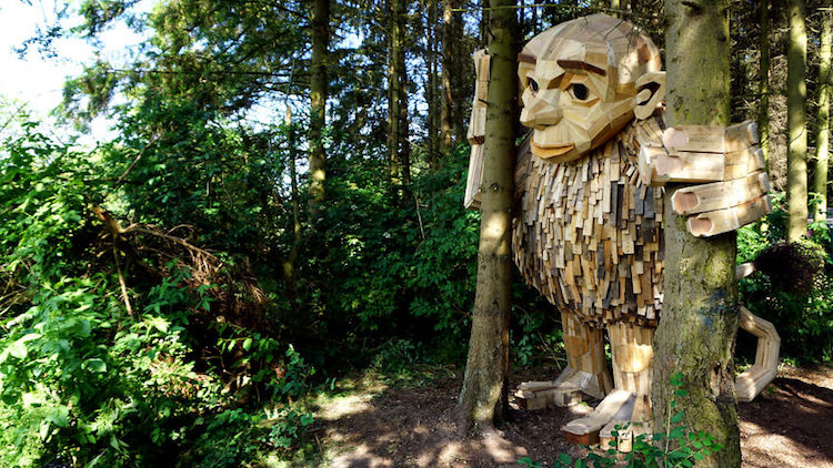进击的巨人现身丹麦?让森林巨人带妳展开自然中的大冒险!