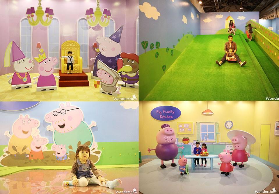 【Wondershow带你看展览】孩子们的粉红巨星-Super Pop粉红猪小妹 超级互动展