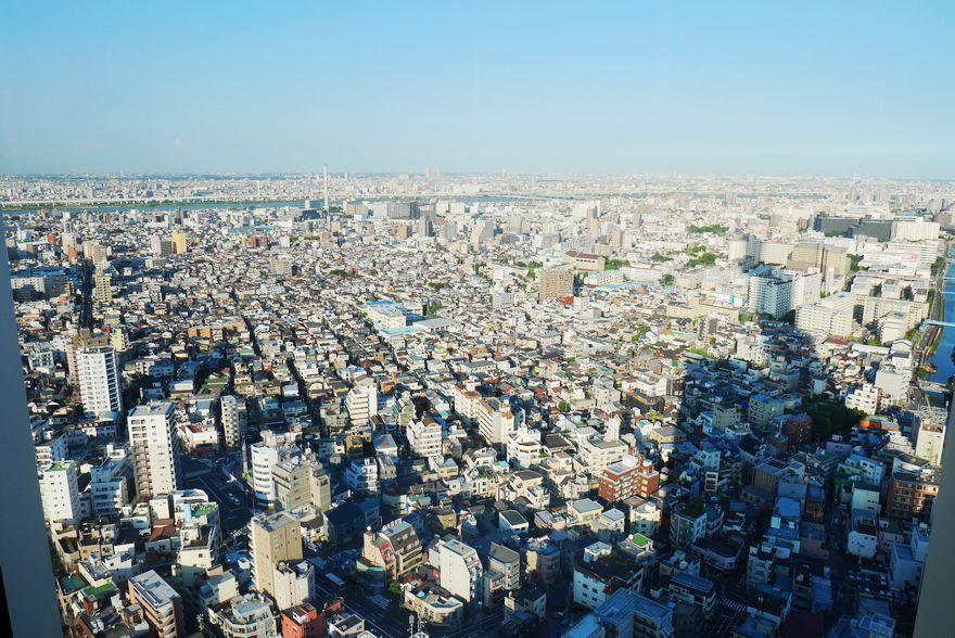 【日本】日剧般的绝佳景色,融入在蓝天下的高塔─晴空塔SKY TREE
