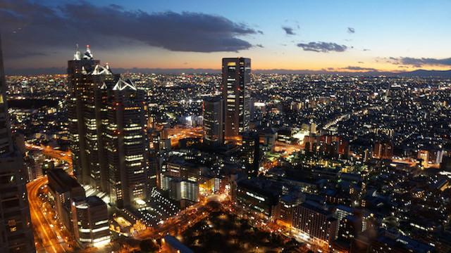 看见不一样的美丽东京--夜景攻略