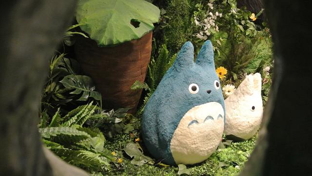 跟随龙猫的脚步~一起来台中看《吉卜力的动画世界特展》啰!